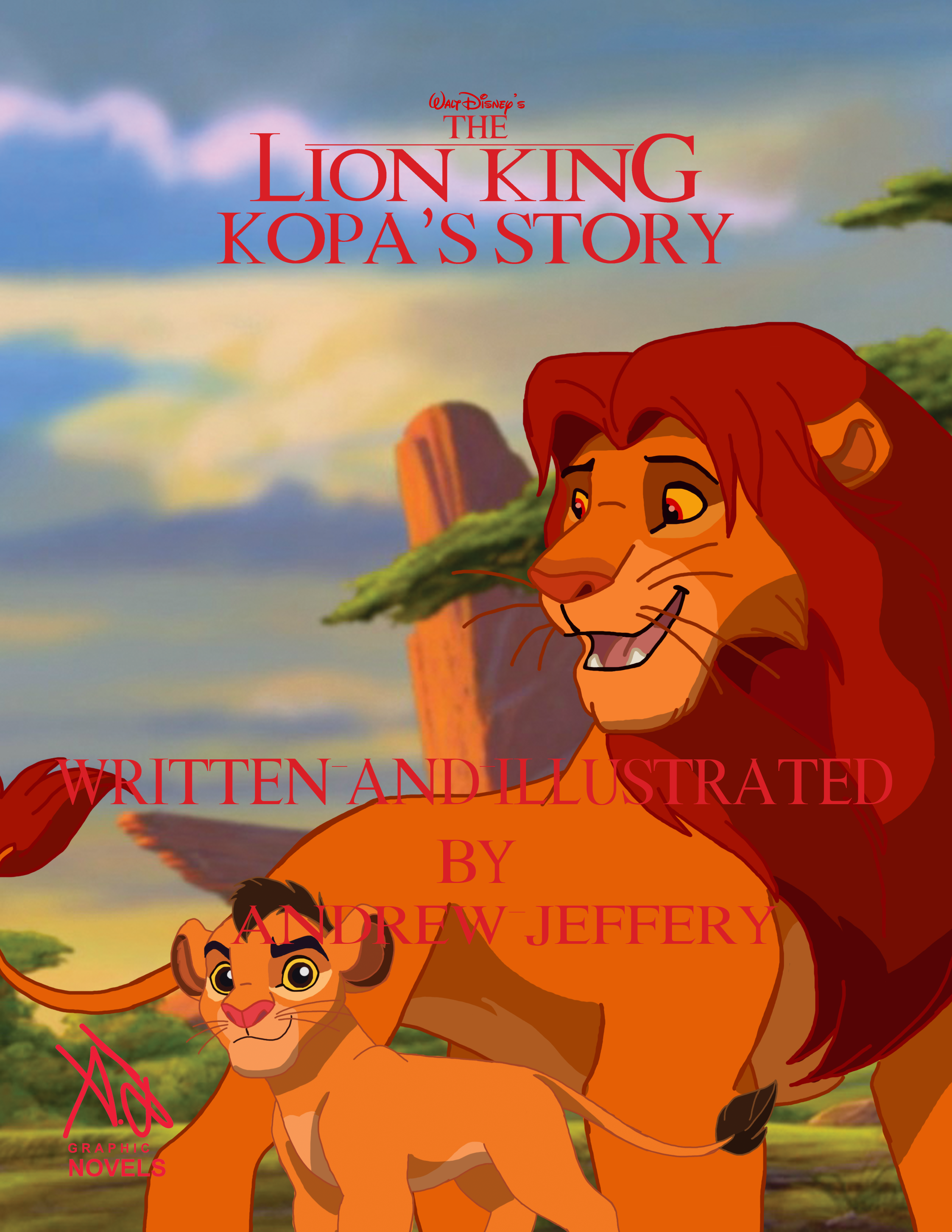 The Lion King Kopas Story Cover Final Version By