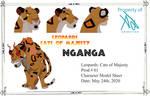 Nganga Model Sheet by AndrewShilohJeffery