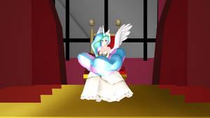 MMD NC Princess Celestia of Equestria