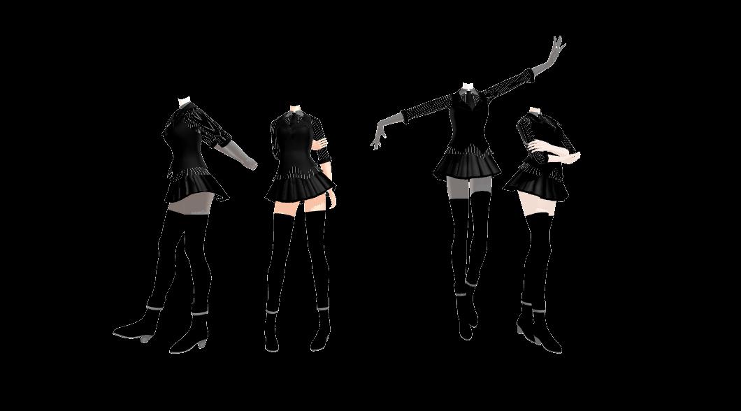 MMD Furry Academy Girls New Uniform by 2234083174