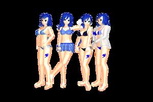 MMDJuvia Lockser - Bikini's DL by 2234083174