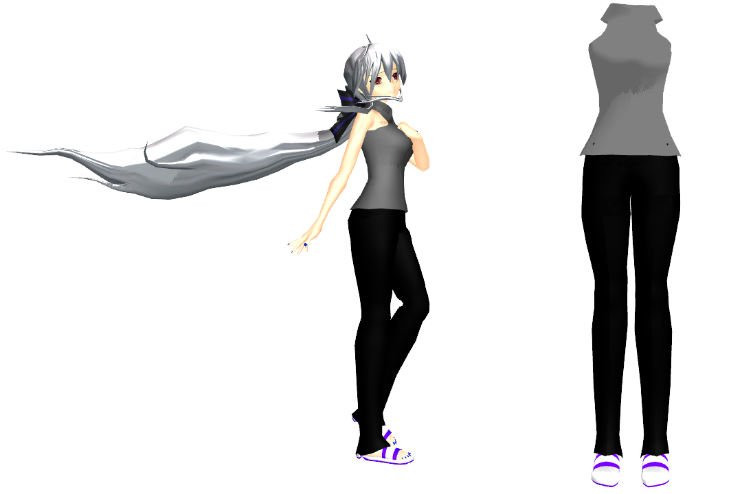 MMD Kio Casual Haku Outfit DL By 2234083174 On DeviantArt