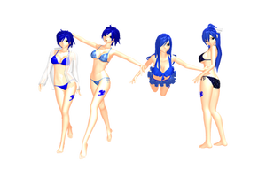 MMD FT Juvia Bikini Style V.2 DL by 2234083174