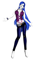 MMD FT Succubus Juvia DL by 2234083174