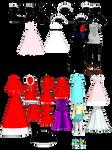 MMD Random Outfits 2