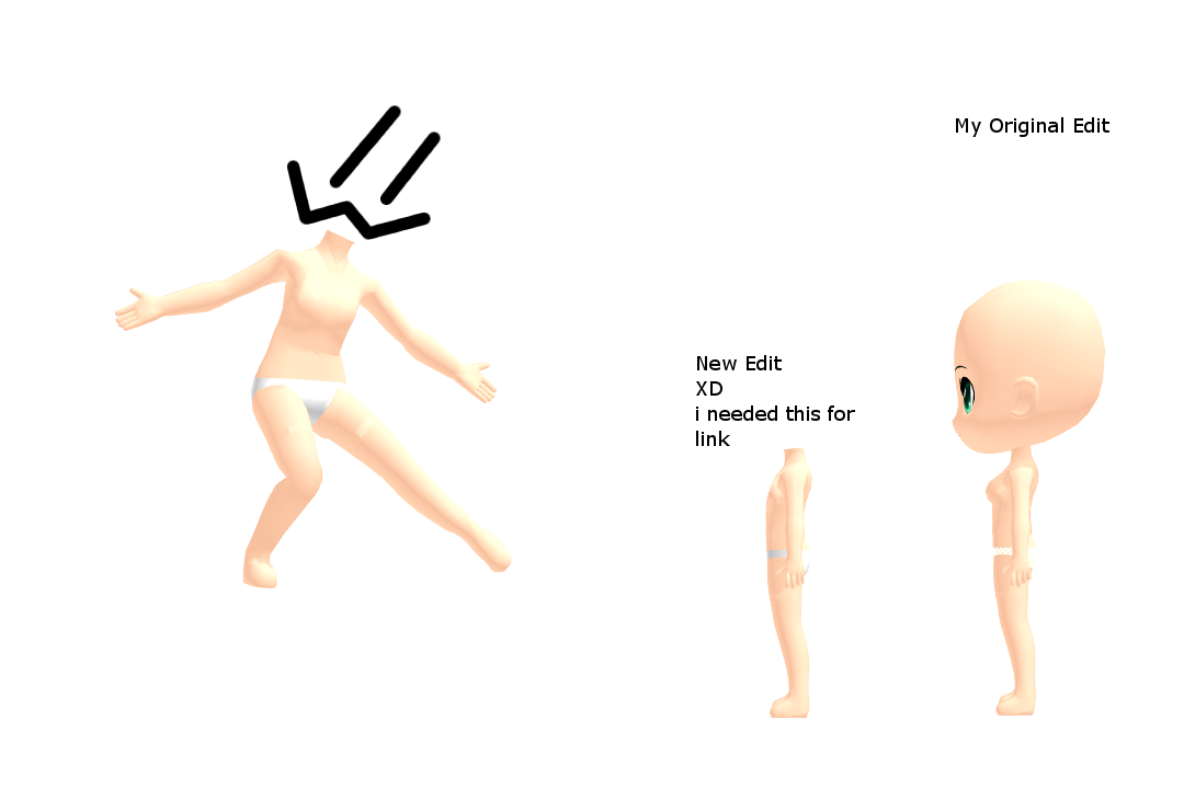 MMD Male or Flat chested Rummy Base Edit DL by 2234083174