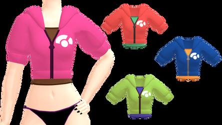 MMD Pokemon XY Short Parka Jacket DL