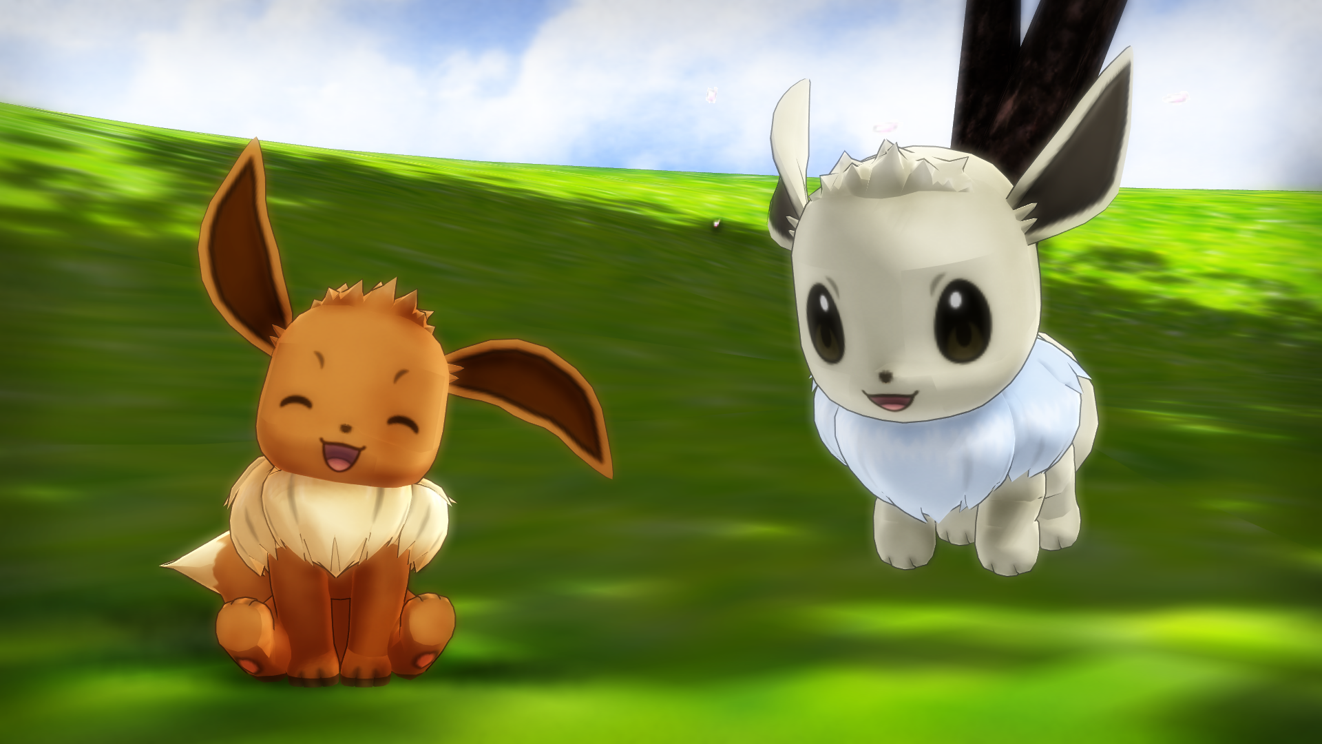 Mmd pk eevee dl by 2234083174 on deviantart - Pokemon 3d download ...