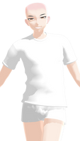 MMD Male Shirt DL