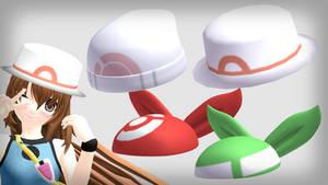 MMD pokemon girls' hats DL