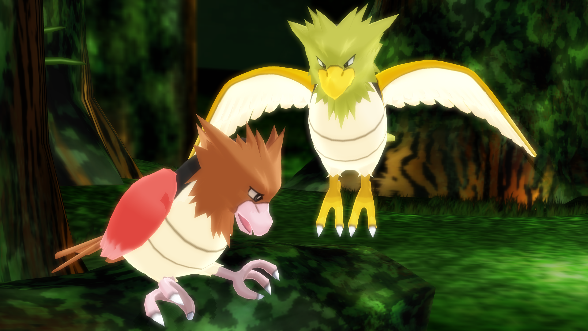 MMD PK Spearow DL