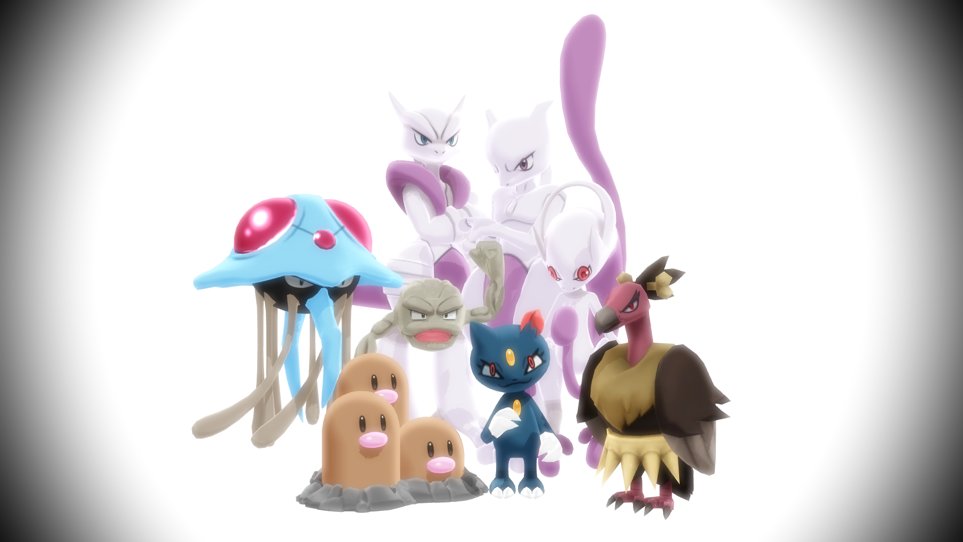MMD PK Random Pokemon Pack 2 DL