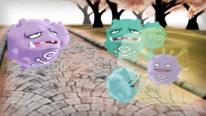 MMD PK Koffing and Weezing DL by 2234083174