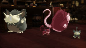 MMD PK Alolan Rattata and Raticate DL by 2234083174