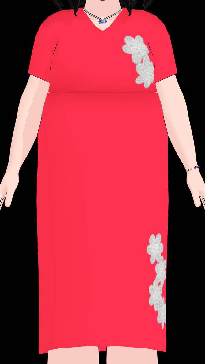 Cute Red Plus Size Dresses - raveitsafe