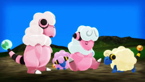 MMD PK Mareep and Flaaffy DL by 2234083174
