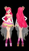 MMD Lolirock Iris Magical Girl DL