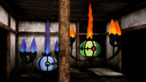 MMD PK Chandelure DL by 2234083174