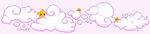 Starry Pixel Clouds - Animated by CloverWing