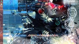 Desktop theme Crysis Rainmeter