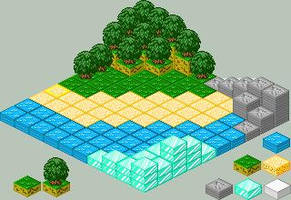 isometric landscape editor by FoxRichards