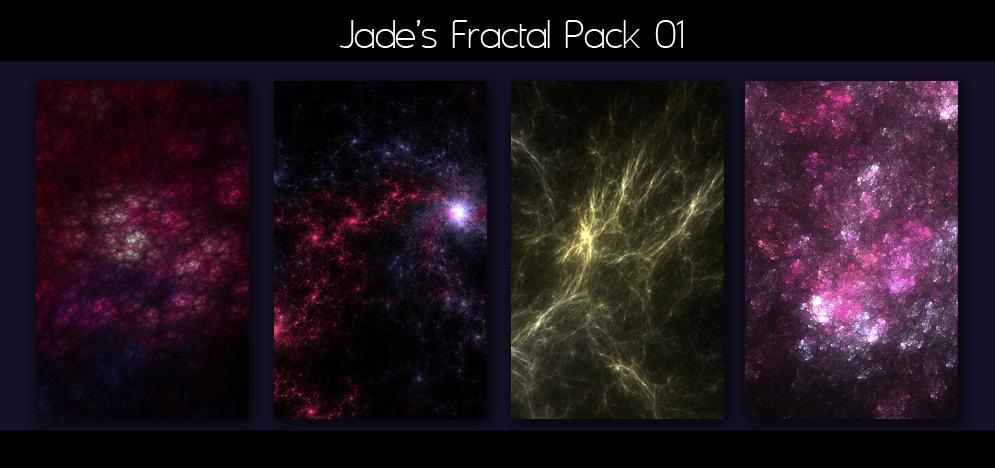 Jade's Fractal Pack 01 by m-yang