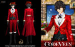 CODE VEIN--2019Christmas Set-Louis_Red by verawhite