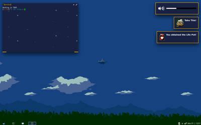Cave Story desktop (openbox+xfce4-notifyd) by hallgat