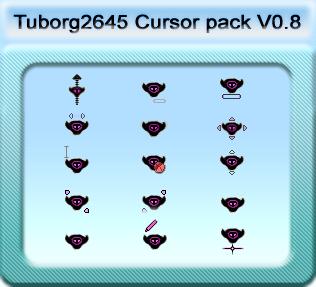 BleackHiigaran Cursor Pack 0.8 by Tuborg2645