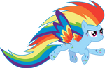 Rainbow Power Rainbow Dash by whizzball2