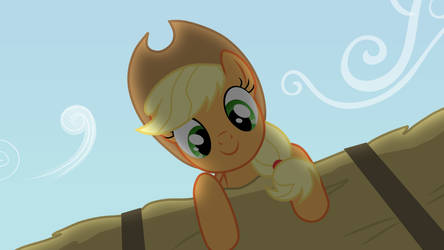 Applejack is watching you by valadrem