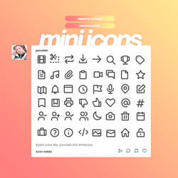 PACK MINI ICONS 50 X 50 BY PORCELAIN by thatporcelain
