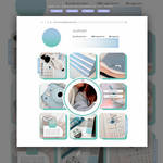 INSTAGRAM INSPIRED TEMPLATE by PORCELAIN