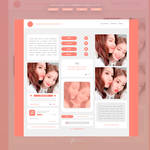 BLOG TEMPLATE #01 by Porcelain