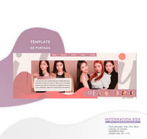TEMPLATE HEADER PSD BY PORCELAIN