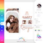 #001 template birthday by itsporcelain