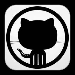 GitHub icon by flakshack