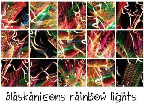 alaskanicons rainbow lights
