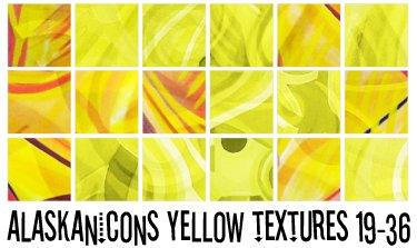 alaskanicons yellow textures 2 by AlaskanEskimoPie