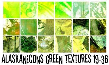 alaskanicons green textues 2 by AlaskanEskimoPie
