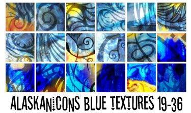 alaskanicons blue textures 2 by AlaskanEskimoPie