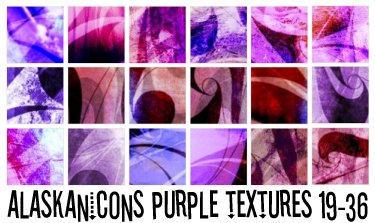 alaskanicons purple textures 2 by AlaskanEskimoPie
