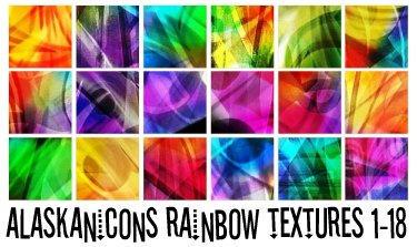 alaskanicons rainbow textures1 by AlaskanEskimoPie