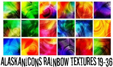 alaskanicons rainbow textures2 by AlaskanEskimoPie