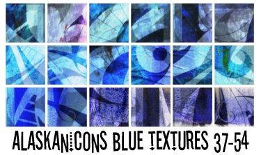 alaskanicons blue textures 3 by AlaskanEskimoPie