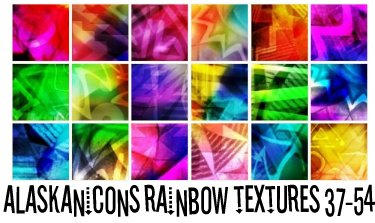 alaskanicons rainbow textures3 by AlaskanEskimoPie