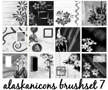 alaskanicons brush set 7 by AlaskanEskimoPie