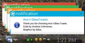 Metro 2011 skin for GlassToast