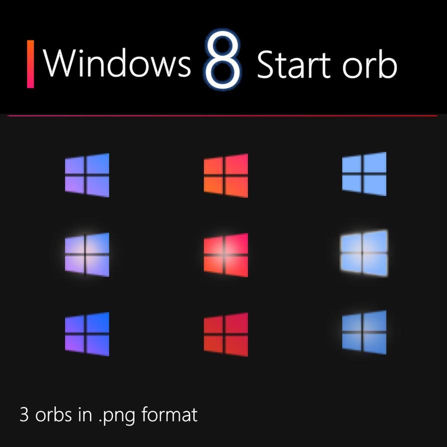 Windows 8 startorb by edios