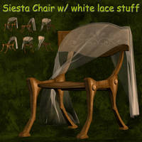 3D Stock Siesta Chair by Delekatala-stock